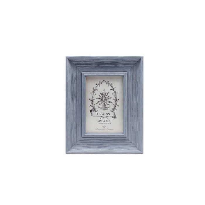 Lawrence Frames Weathered Lapis Picture Frame,