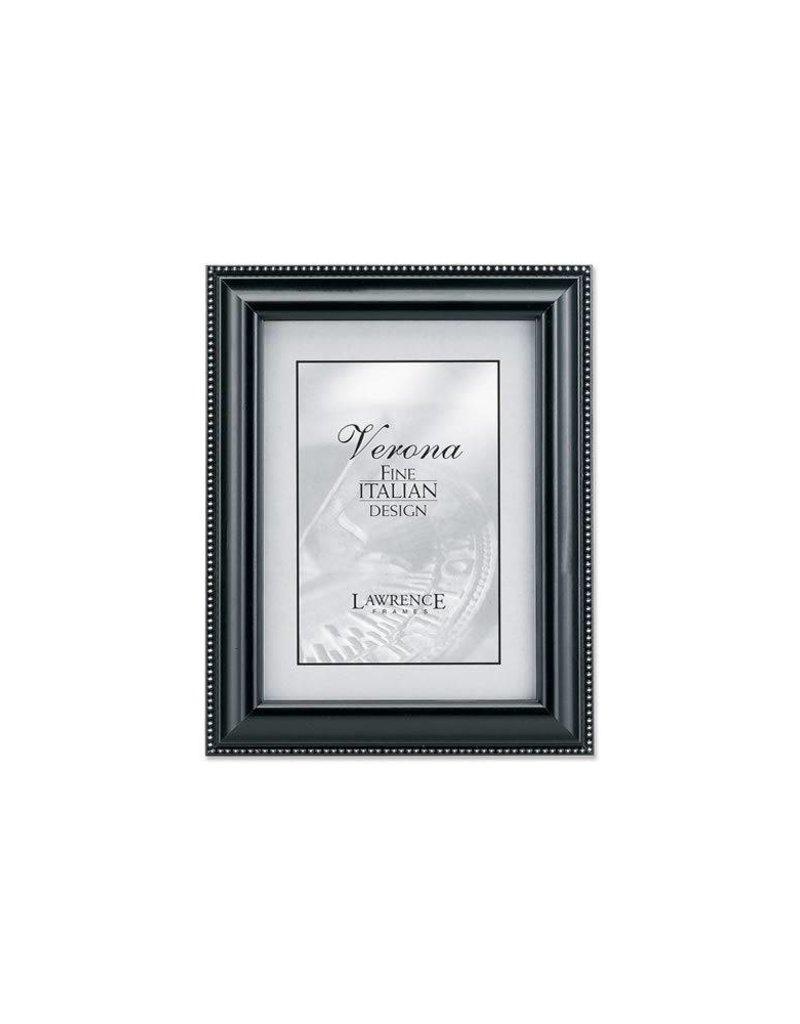 Lawrence Frames Lawrence Frames Black Wood & Silver Bead Picture Frame,