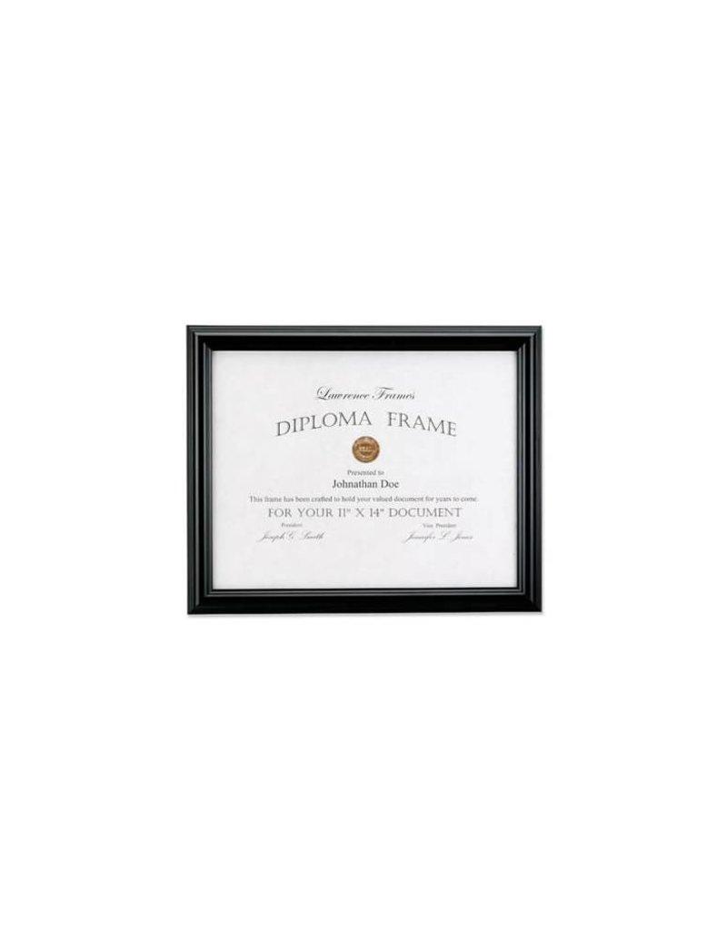 Lawrence Frames Lawrence Frames Black Diploma Frame, Domed Top,