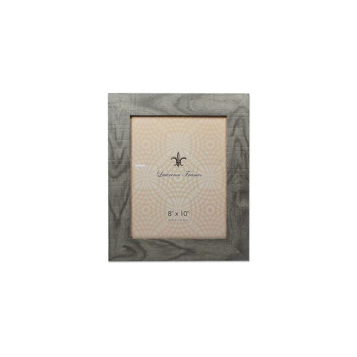 Lawrence Frames Weathered Gray Halloway Picture Frame