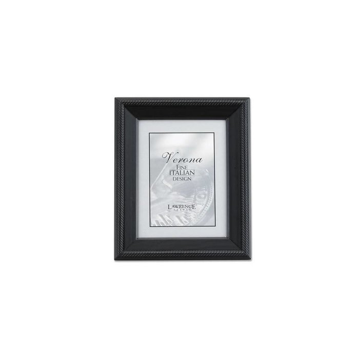Lawrence Frames Tu by Edo, Black Wood Picture Frame