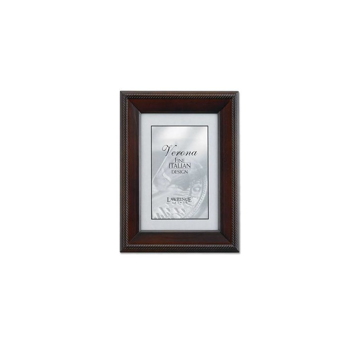 Lawrence Frames Tu by Edo, Walnut Wood Picture Frame,