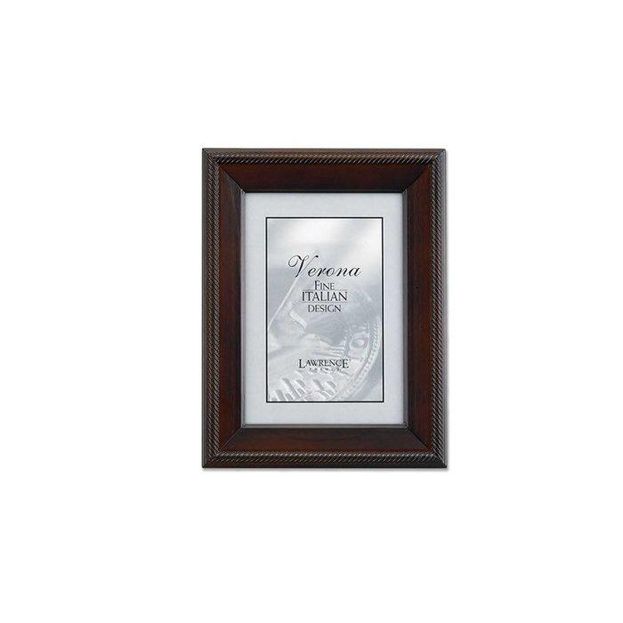 Lawrence Frames Tu by Edo, Walnut Wood Picture Frame,