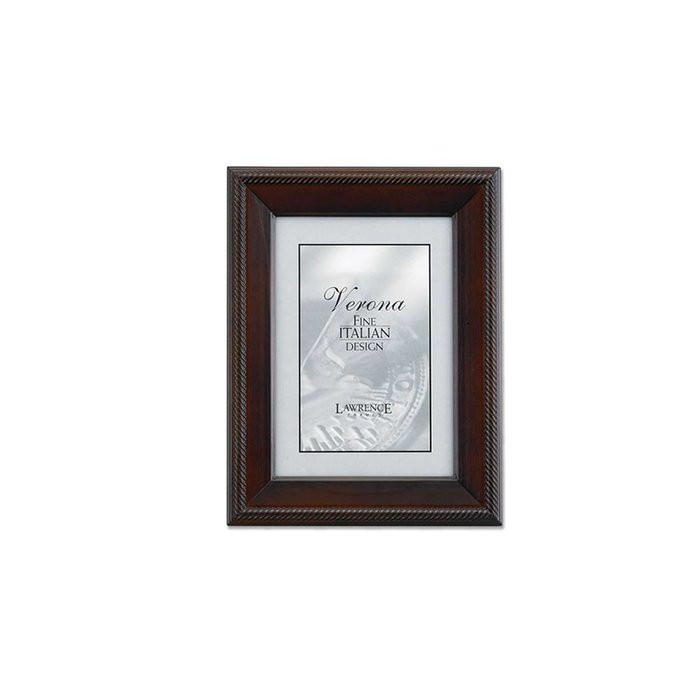 Lawrence Frames Tu by Edo, Walnut Wood Picture Frame