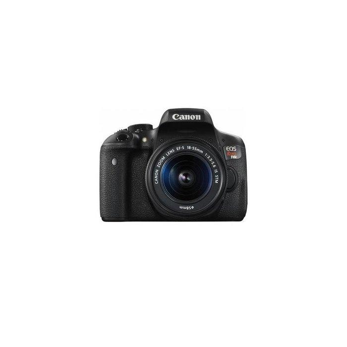 Canon EOS Rebel T6i DSLR Camera with EF-S 18-55mm f/3.5-5.6 IS STM Lens