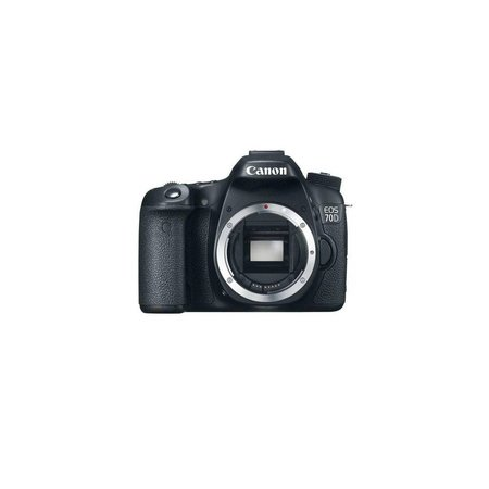 Canon EOS 70D DSLR Camera Body - Black