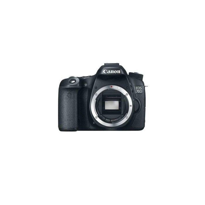 Canon EOS 70D DSLR Camera Body - Black