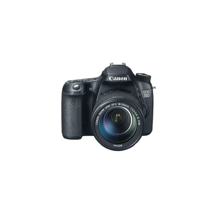 Canon EOS 70D DSLR Camera Body Kit w/18-135 IS Lens