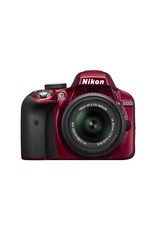 Nikon Nikon D3300 DSLR Camera Body w/18-55mm f/3.5-5.6G VR II Lens,