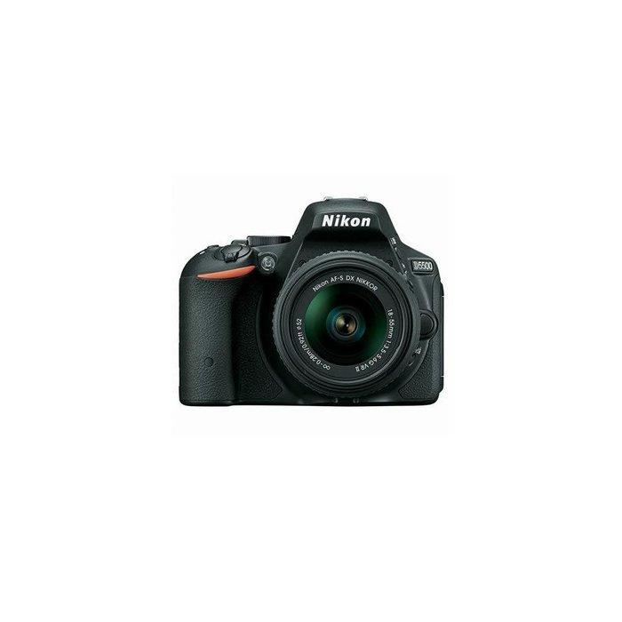 Nikon D5500 Digital SLR Camera Kit with AF-S DX NIKKOR 18-55mm f/3.5-5.6G VR II Lens,