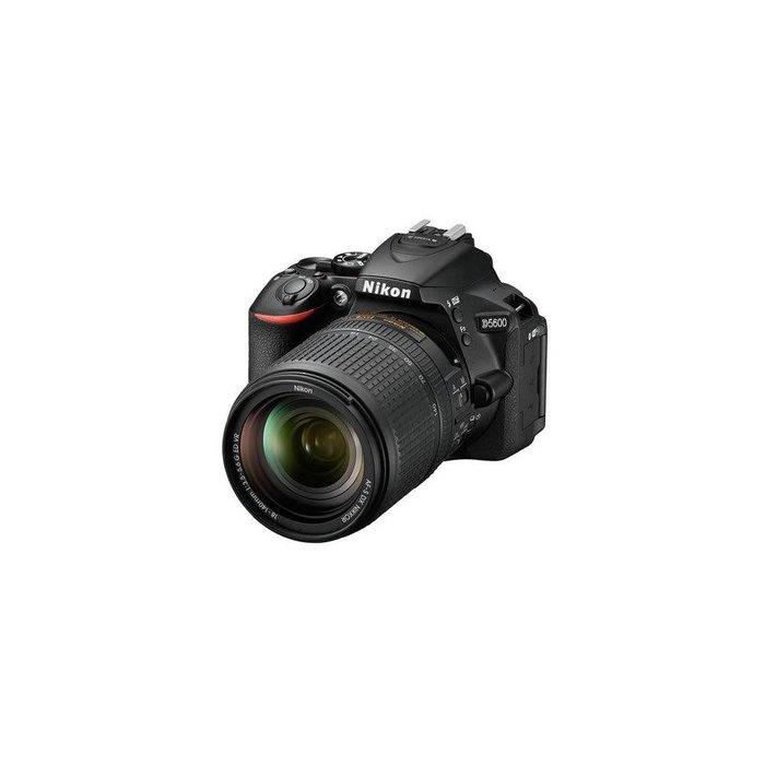 Nikon D5600 Digital SLR Camera Kit with AF-S DX NIKKOR 18-140mm f/3.5-5.6G ED VR Lens, Black