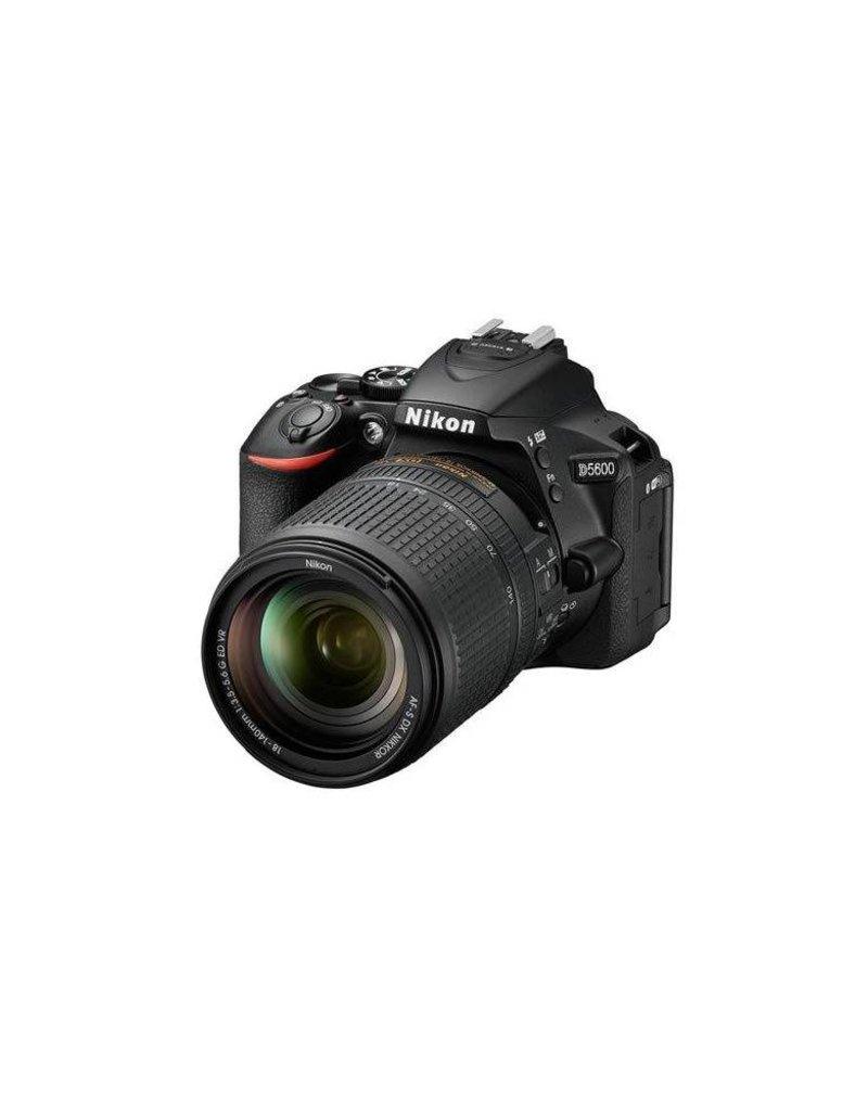 Nikon Nikon D5600 Digital SLR Camera Kit with AF-S DX NIKKOR 18-140mm f/3.5-5.6G ED VR Lens, Black
