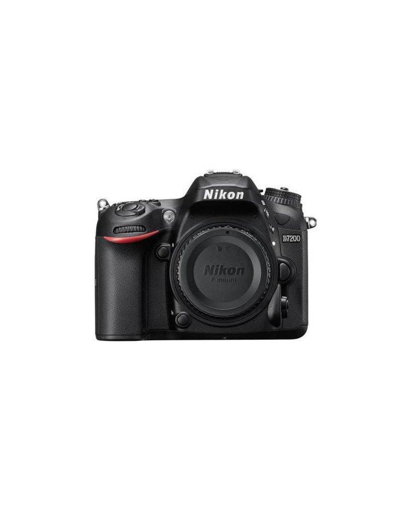 Nikon Nikon D7200 DSLR Body, Black