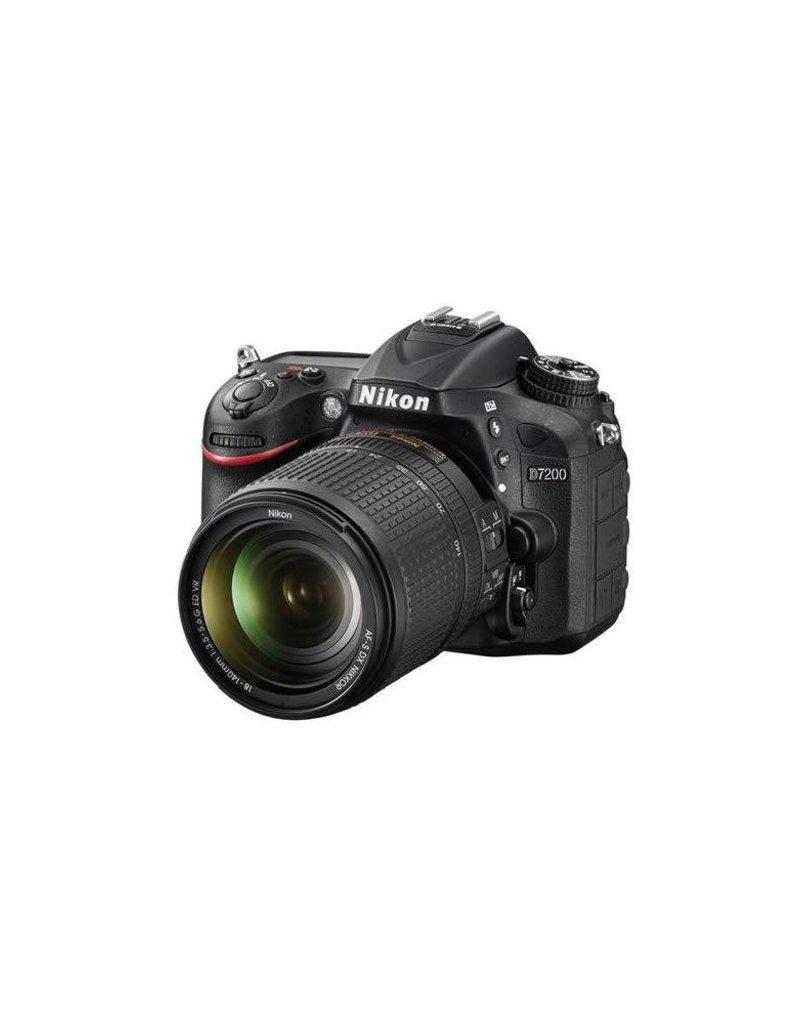 Nikon Nikon D7200 DX-Format DSLR Camera with AF-S DX NIKKOR 18-140mm f/3.5-5.6G ED VR Lens