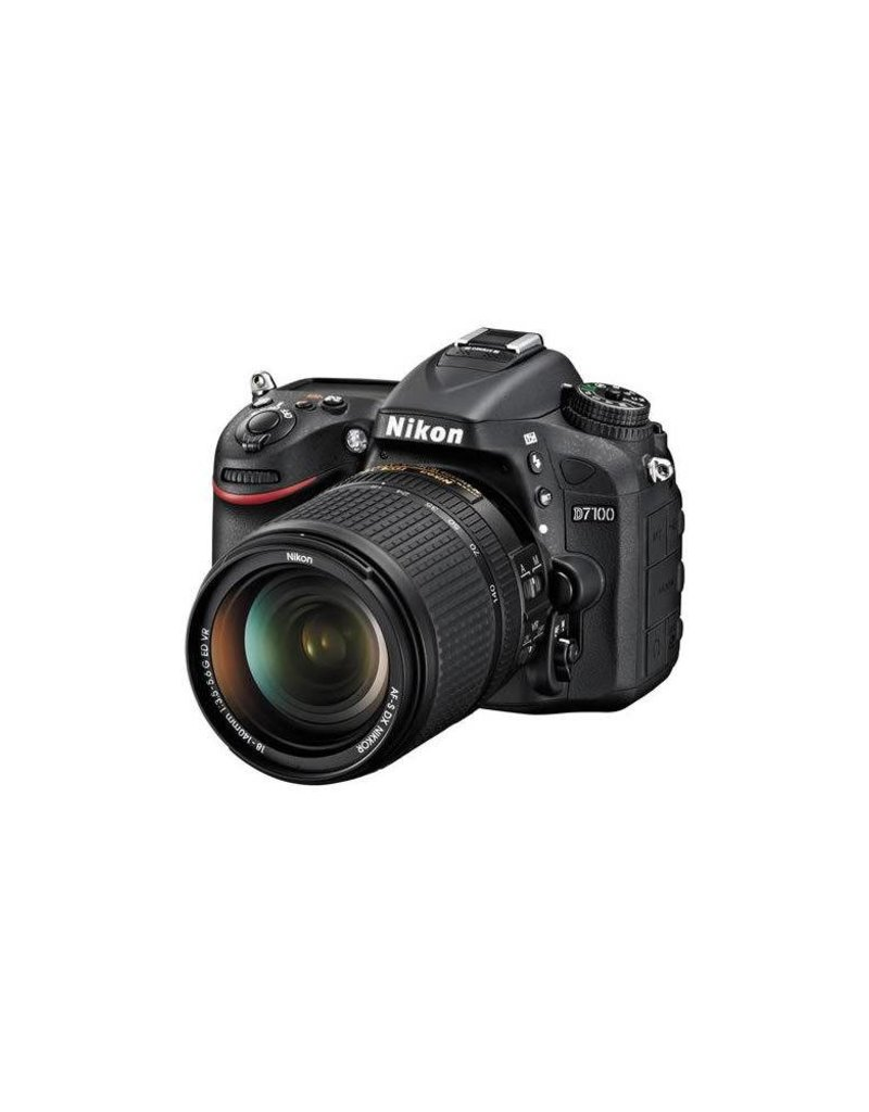 Nikon Nikon D7100 DX-format 24.1MP DSLR Camera Kit with AF-S DX NIKKOR 18-140mm f/3.5-5.6G ED VR Lens