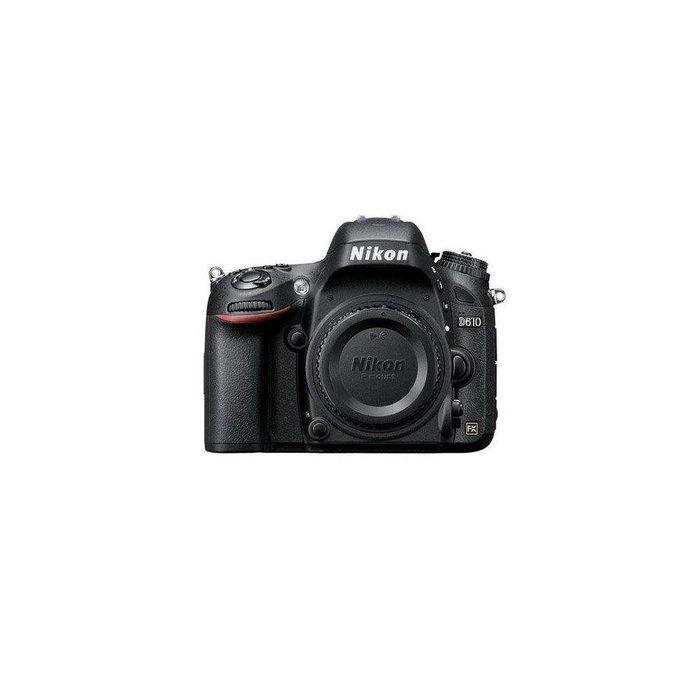 Nikon D610 FX-format Digital SLR Camera Body