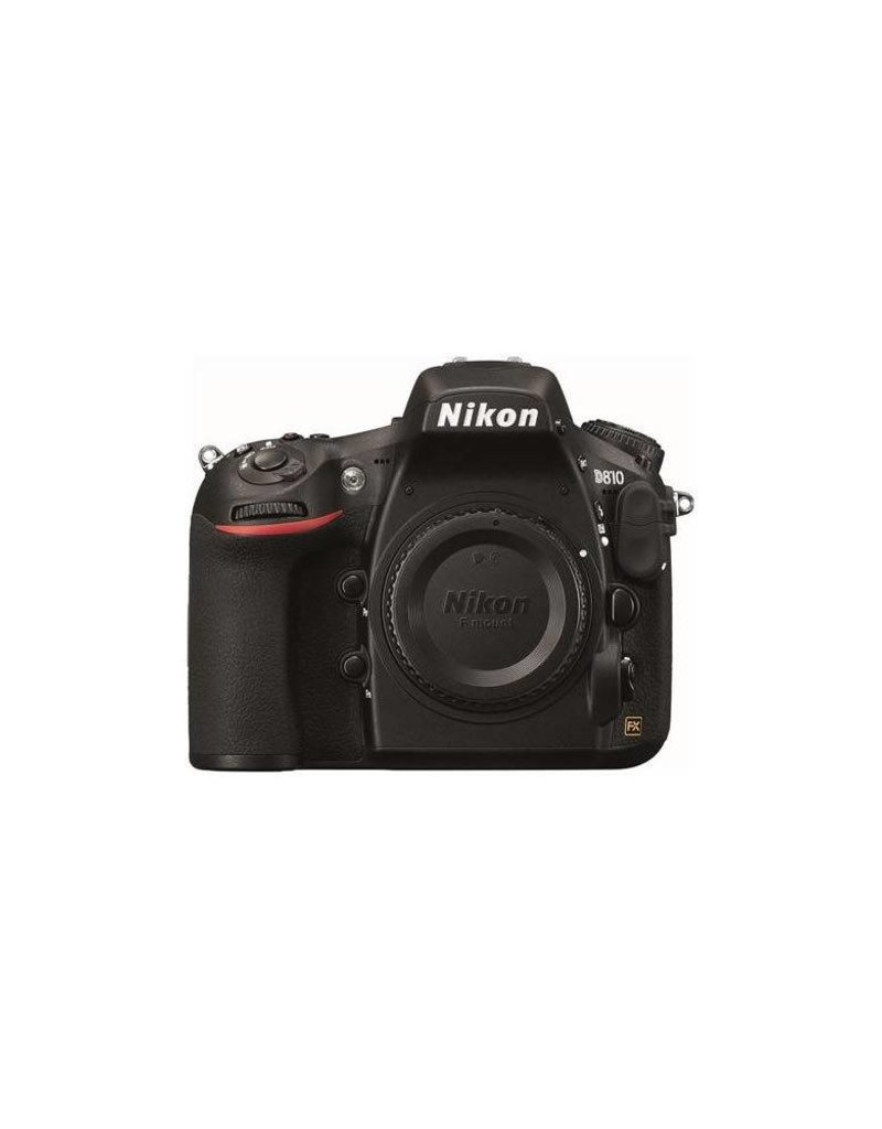 "Nikon Nikon D810 Digital SLR Body Only Camera, 3.2"" LCD Monitor, 36.3MP FX-Format Sensor"