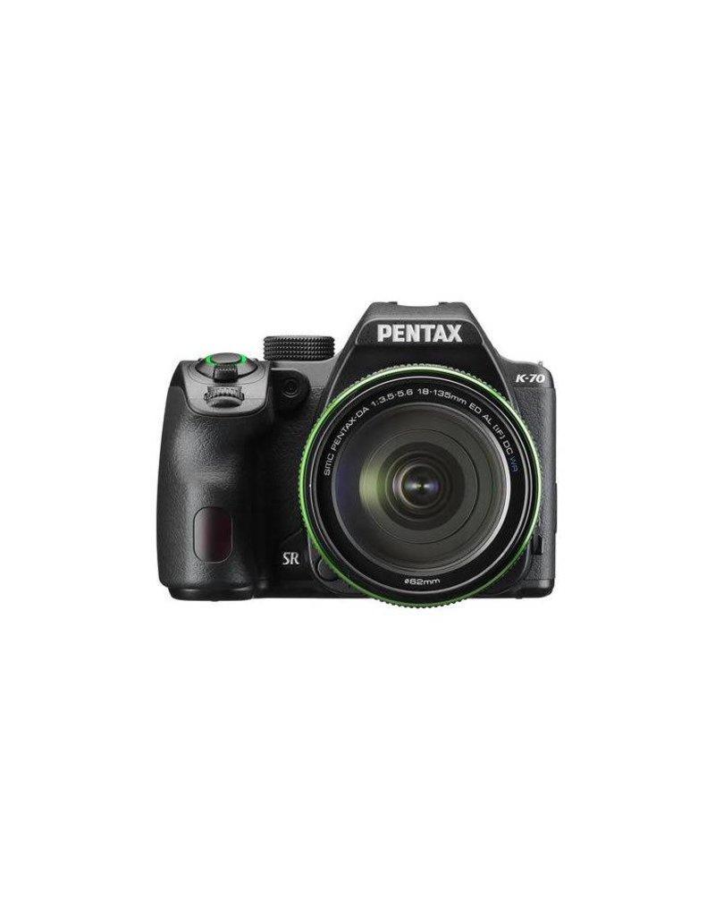 Pentax Pentax K-70 24MP Full HD Digital SLR Camera with SMC DA 18-135mm f/3.5-5.6 ED AL DC WR Lens,