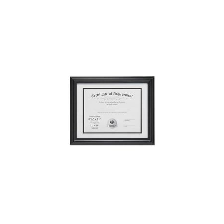 Lawrence Frames Dual Use Diploma Frame with Double Bevel Cut Matting ,