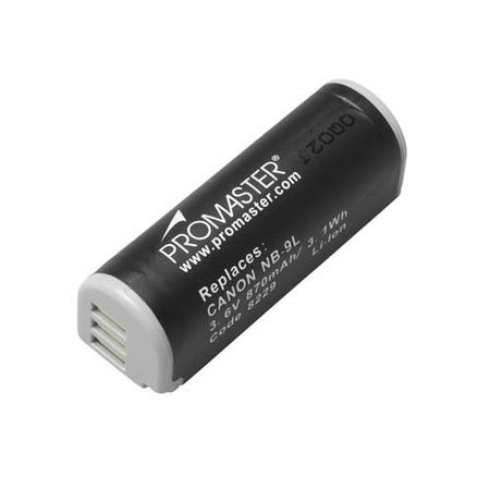 Promaster NB-9L Canon Battery