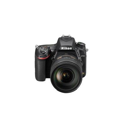 Nikon D750 FX-Format Digital SLR Camera with AF-S NIKKOR 24-120mm f/4G ED VR Lens