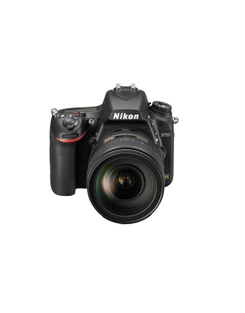 Nikon Nikon D750 FX-Format Digital SLR Camera with AF-S NIKKOR 24-120mm f/4G ED VR Lens