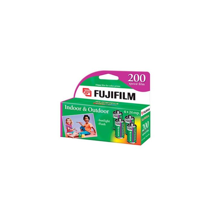 Fuji 200-24 Carded Superia Film