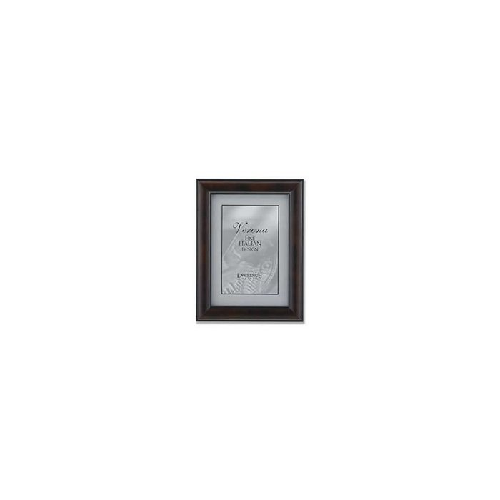 Lawrence Frames Wanut Wood with Domed Profile Picture Frame,
