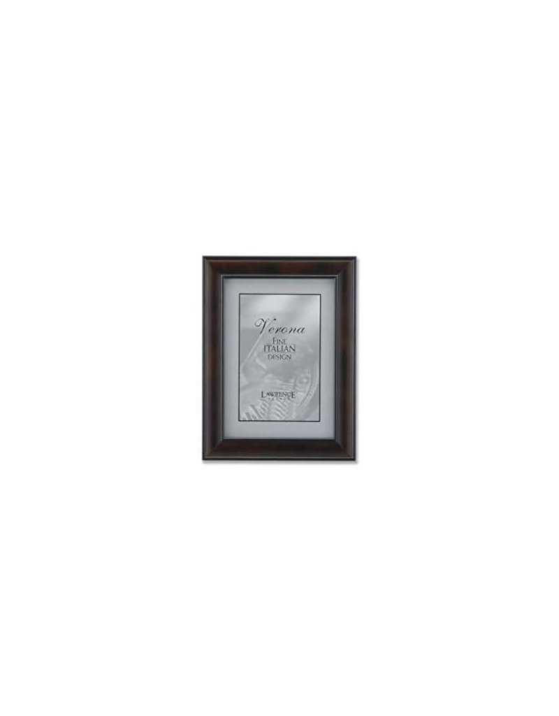 Lawrence Frames Lawrence Frames Wanut Wood with Domed Profile Picture Frame,