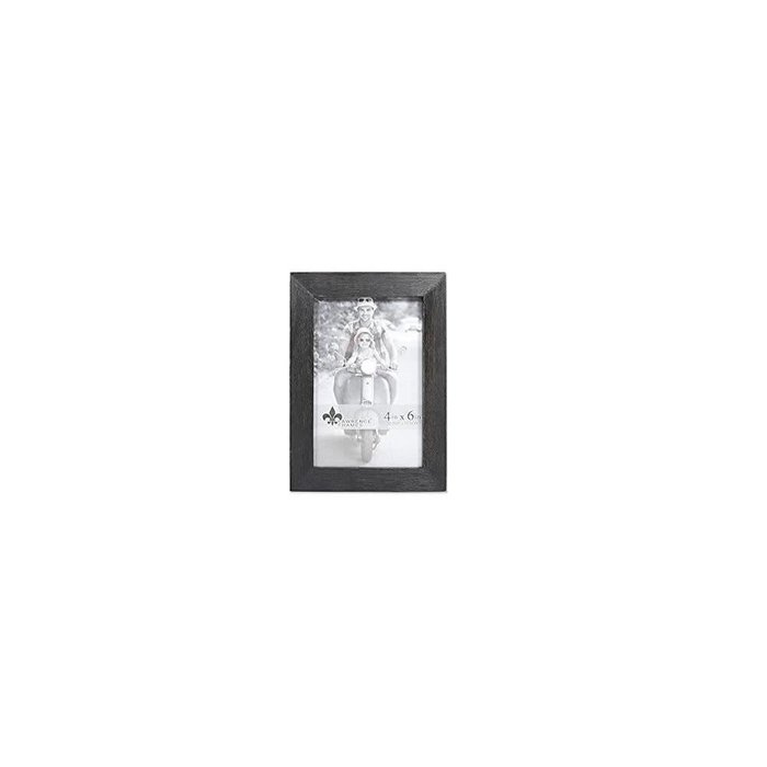 Lawrence Frame 4X6 Wood Black (10.2 X15.2cm)
