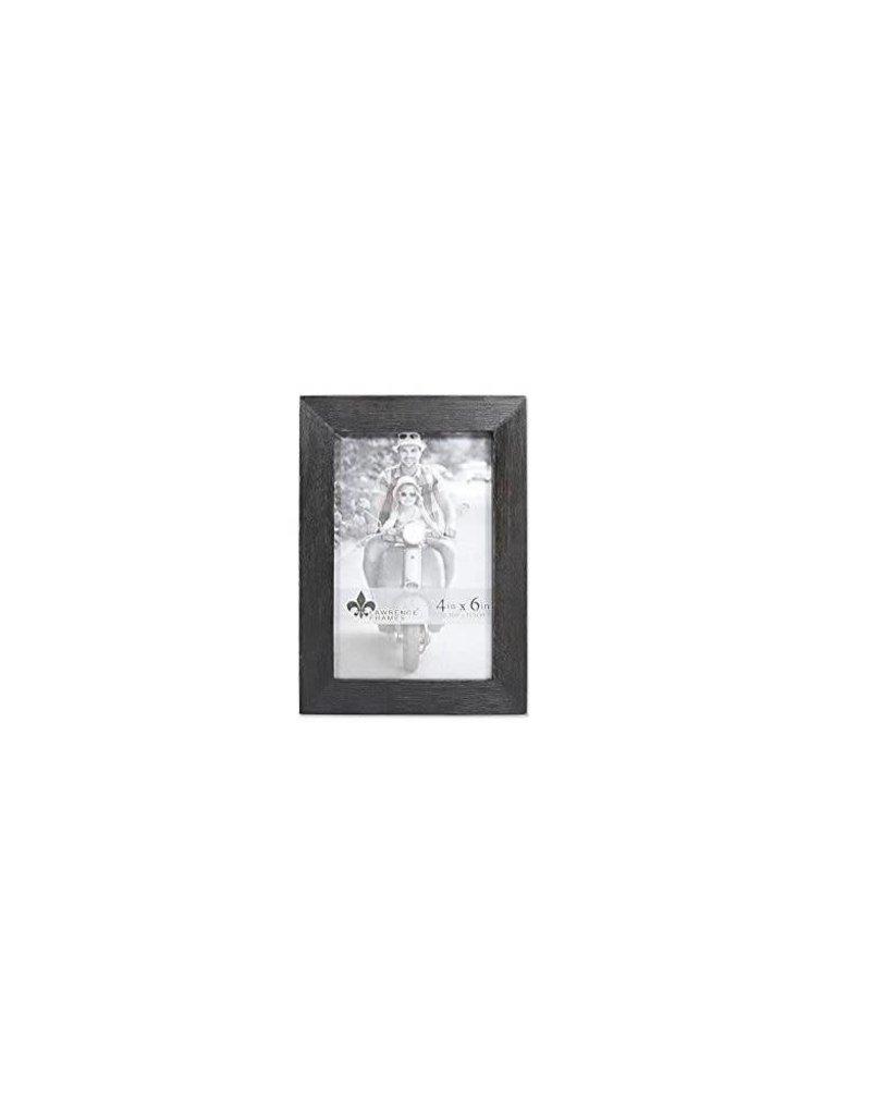 Lawrence Frames Lawrence Frame 4X6 Wood Black (10.2 X15.2cm)