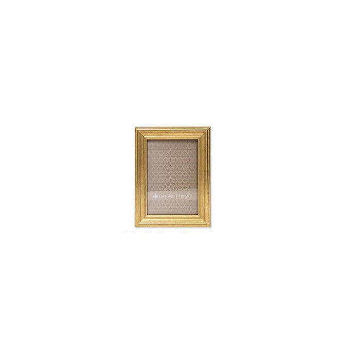 Lawrence Frame 4X6 Gold Wood (10 X 15cm)
