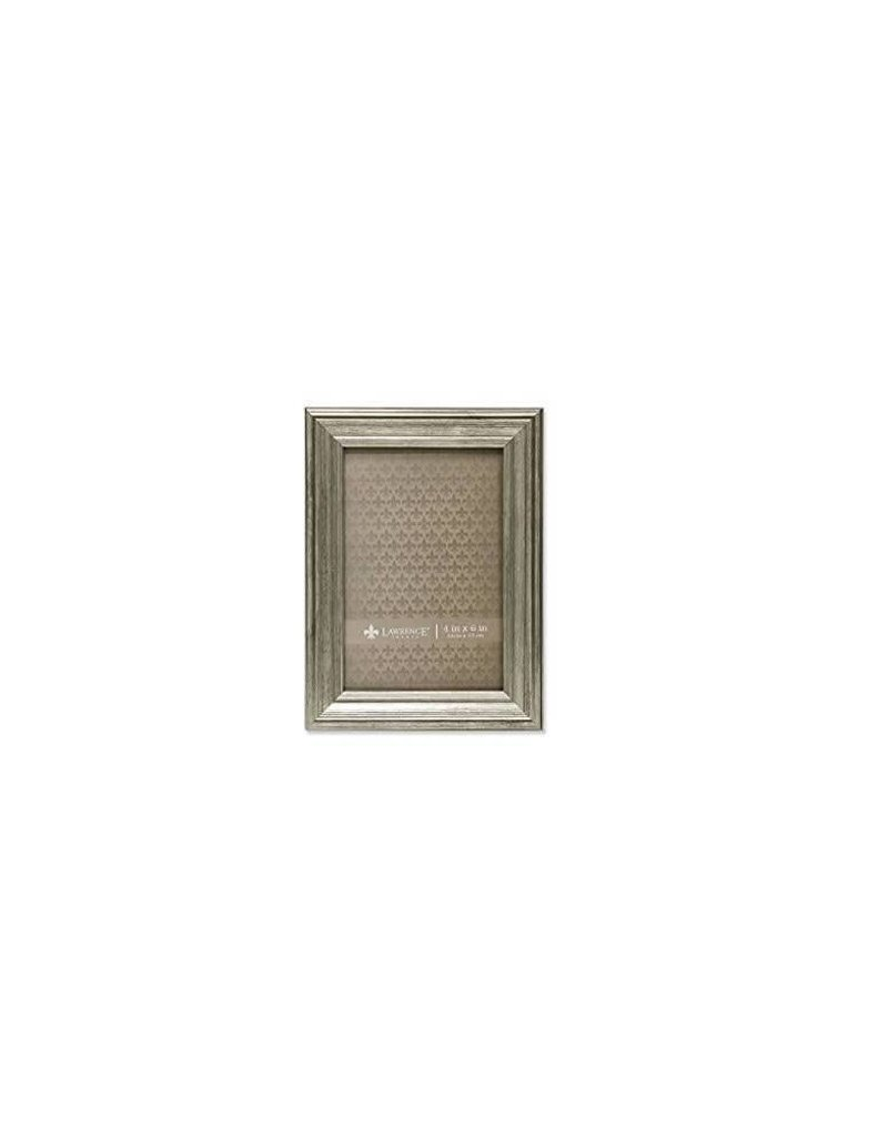 Lawrence Frames Lawrence Frame 4X6 Silver Wood (10 X 15cm)
