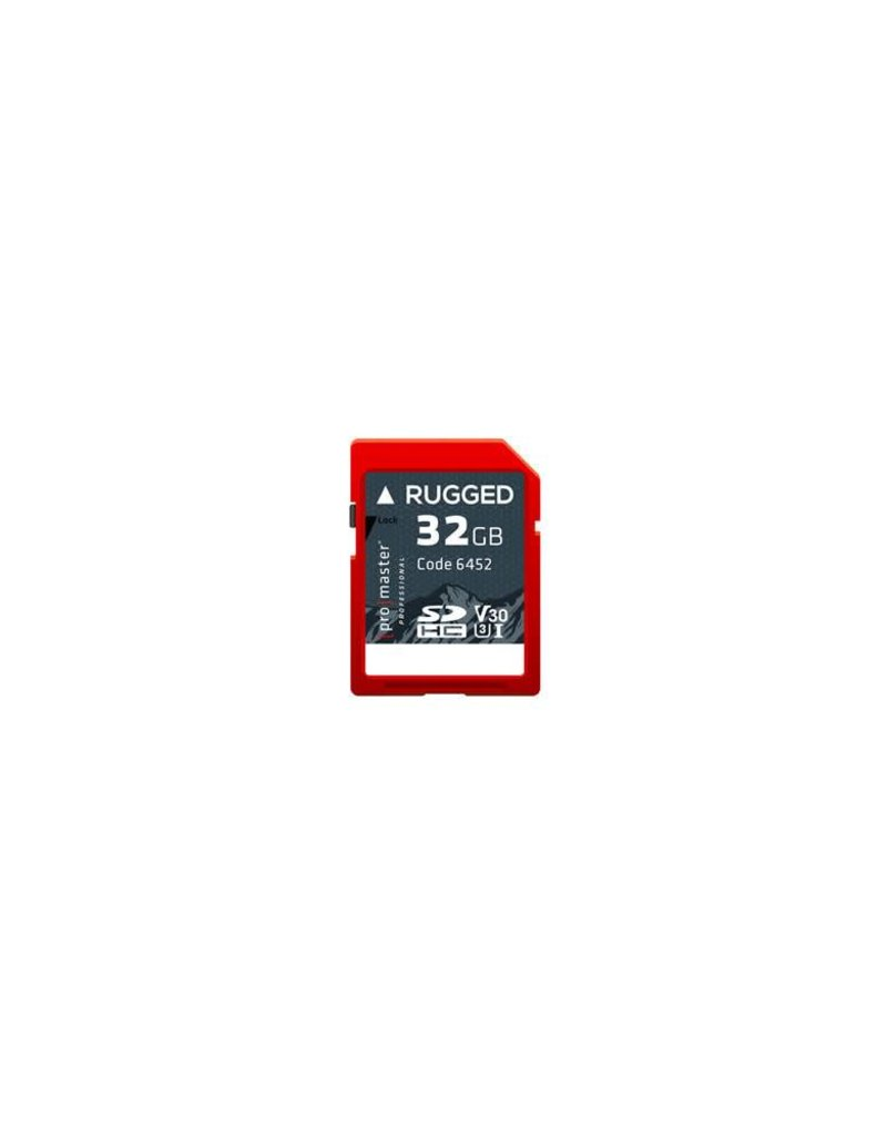 Promaster Promaster 32GB Rugged 32GB Rugged UHS-I Memory Card