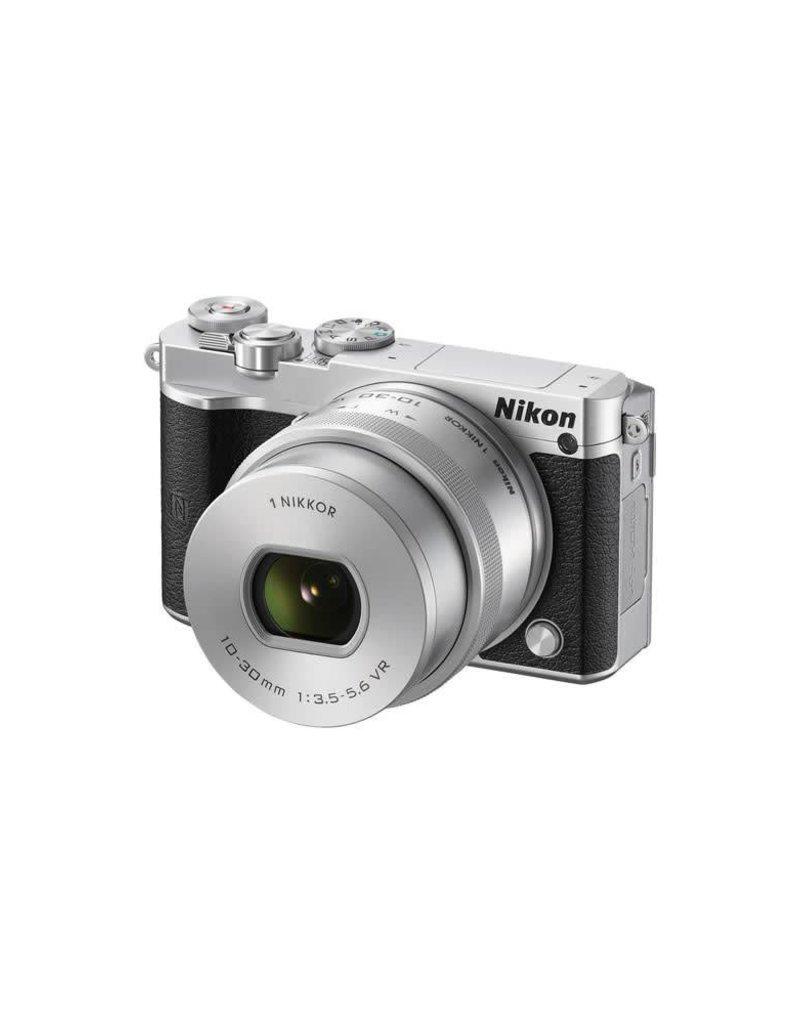 Nikon Nikon 1 J5 Mirrorless Digital Camera with 10-30mm Lens (Silver)