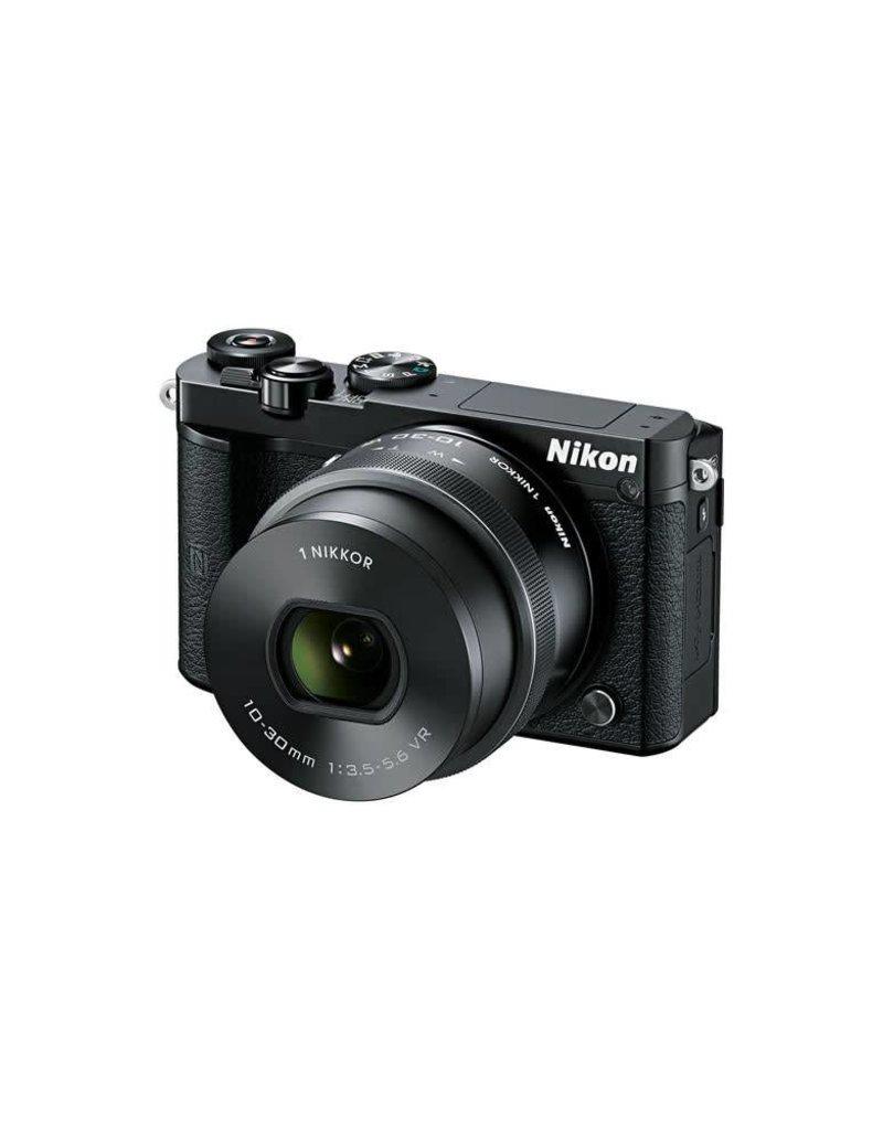 Nikon Nikon 1 J5 Mirrorless Digital Camera with 10-30mm Lens (Black)