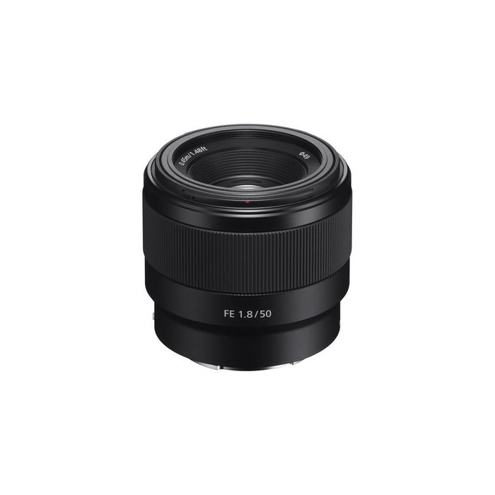 Sony Lens for Sony E‑Mount ‑ 50mm ‑ F/1.8
