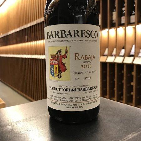 Produttori del Barbaresco Rabaja Riserva 2013