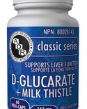 AOR AOR D-Glucarate + Milk Thistle 163 mg 60 vcaps