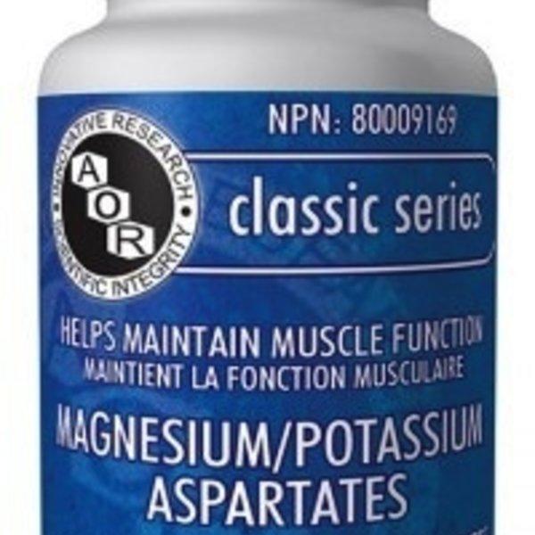 AOR AOR Mag/Potassium Aspartates 477MG 120 caps