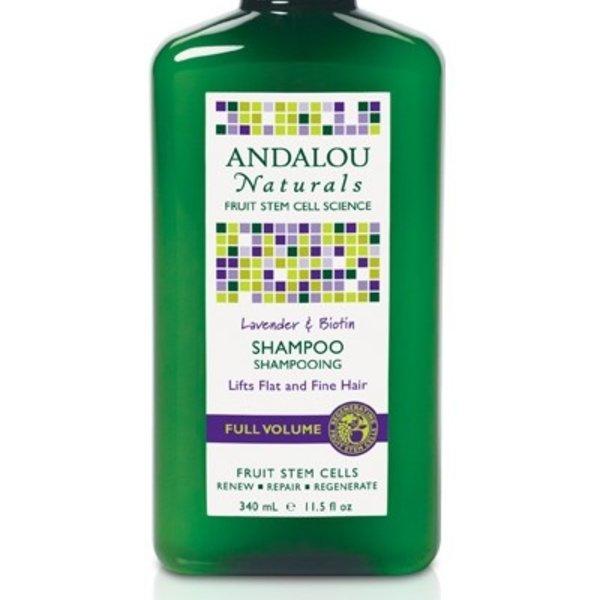 Andalou Naturals Andalou Lavender Biotin Volume Shampoo 340ml