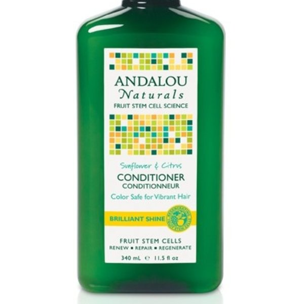 Andalou Naturals Andalou Sunflower Citrus Shine Conditioner 340ml