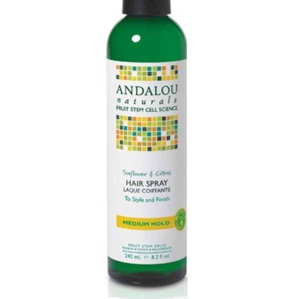 Andalou Naturals Andalou Sunflower Citrus Medium Hold Hair Spray 242ml
