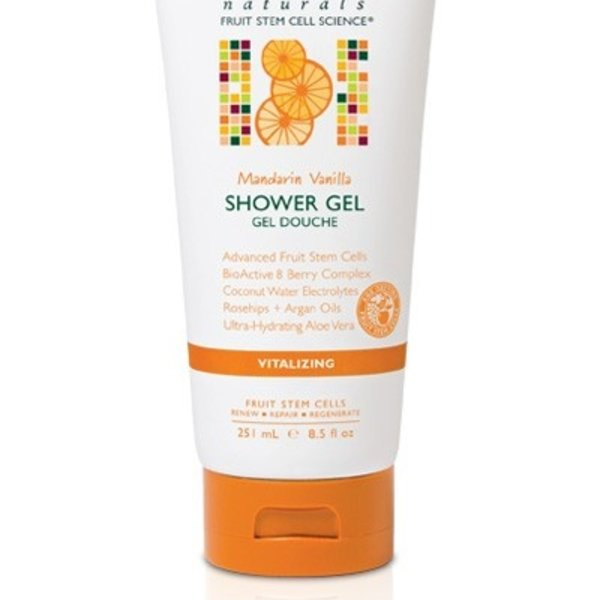 Andalou Naturals Andalou Shower Gel Vitalizing Mandarin Vanilla 251ml