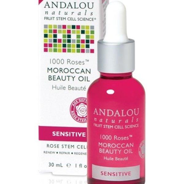 Andalou Naturals Andalou 1000 Roses Moroccan Beauty Oil 30ml