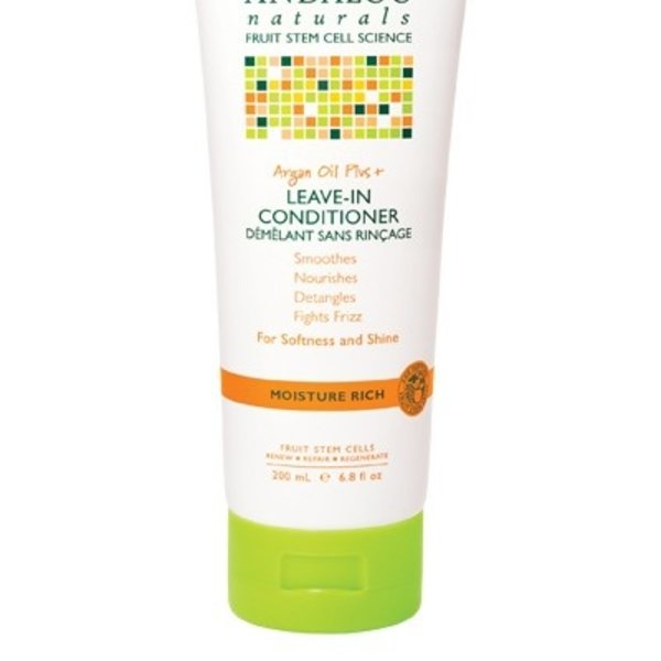 Andalou Naturals Andalou Moisture Rich Argan Oil Plus Leave In Conditioner 200ml