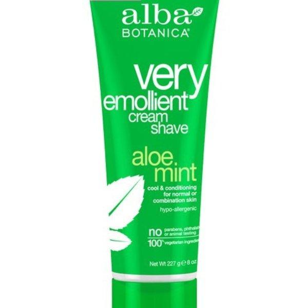 Alba Botanica Alba Aloe Mint Cream Shave 227 g