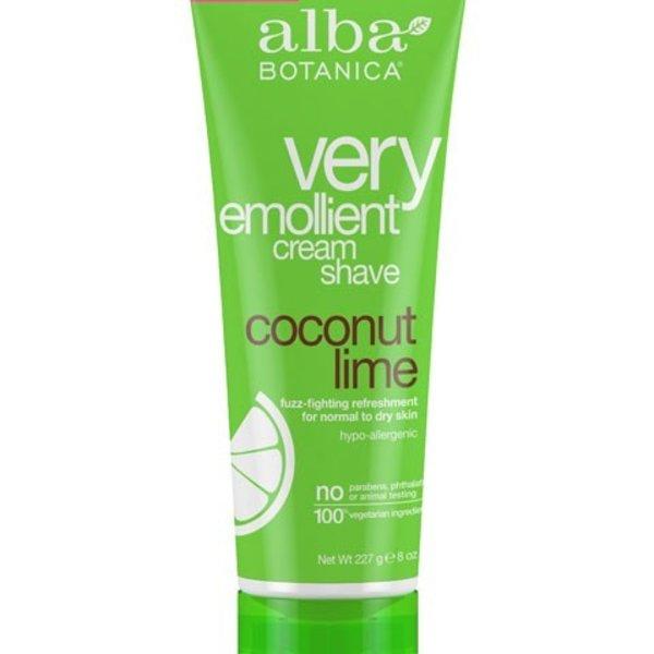 Alba Botanica Alba Coconut Lime Cream Shave 227 g