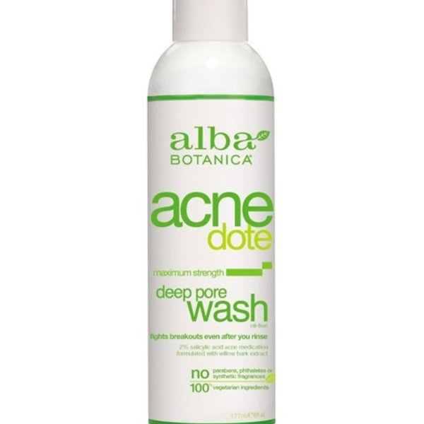 Alba Botanica Alba AcneDote Deep Pore Wash 177 mL