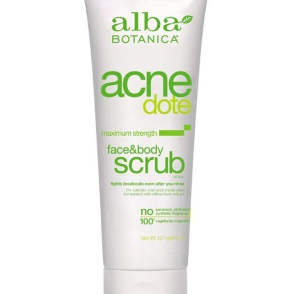 Alba Botanica Alba AcneDote Face & Body Scrub 227 g